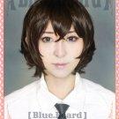 Bungo Stray Dogs Osamu Dazai short brown anime cosplay wig