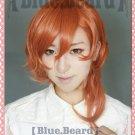 Bungo Stray Dogs Chuya Nakahara orange anime cosplay wig