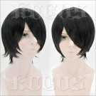 BORUTO -NARUTO THE MOVI Uchiha Sasuke short black anime cosplay wig