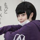 Osomatsu-San Matsuno Ichimatsu short black anime cosplay wig