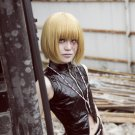 DEATH NOTE Mello short golden cosplay wig