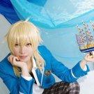 ensemble stars undead Hakaze Kaoru blonde cosplay wig