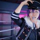 ensemble stars Undead Otogari Adonis short purple cosplay wig