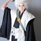 BLEACH Hitsugaya Toushirou short silver white cosplay wig