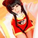 CARDCAPTOR SAKURA RI MEIRIN black 80cm cosplay wig