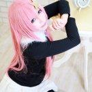 MOBILE SUIT GUNDAM SEED DESTINY Miia Kyanberu Meer Campbell 80cm long pink cosplay wig