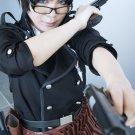Ao no Exorcist Okumura Yukio short black cosplay wig
