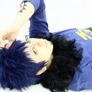 ONE PIECE Trafalgar Law short blue cosplay wig