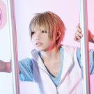 MekakuCity Actors Amamiya Hibiya short Linen cosplay wig