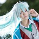 ensemble stars Hibiki Wataru 100cm green mix long cosplay wig