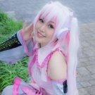 VOCALOID Sakura Miku 120cm pink white cosplay wig