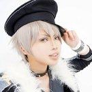 ensemble stars Oogami Koga short silver grey cosplay wig