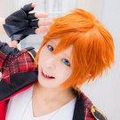 ensemble stars Akehoshi Subaru short orange cosplay wig
