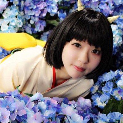 Hoozuki no Reitetsu Peach Maki short black cosplay wig