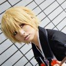 Ao no Exorcist Kinzo Shima short golden cosplay wig