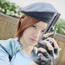 BIOHAZARD Resident Evil Jill Valentine short brown cosplay wig