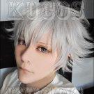 Uta no Prince-sama Kurosaki Ranmaru short gray anime cosplay full wig