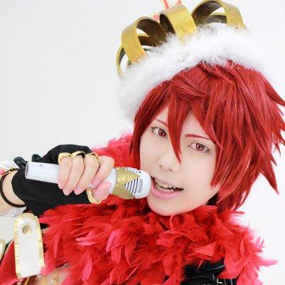 ichu�Ichu�ICHU Torahiko kusakabe short red cosplay wig