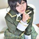 boku wa tomodachi ga sukunai Shiguma Rika black cosplay wig 60cm clip