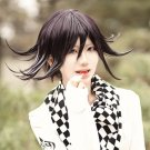 Danganronpa V3 Ouma Kokichi black purple short cosplay wig