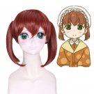 Kobayashi-chi no maid dragon Saikawa Sanae short cosplay wig
