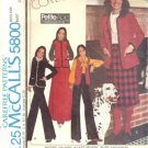 MARLOS CORNER Misses Jacket Vest Skirt Pants UNCUT McCall's 5800 Sewing Pattern Size 10