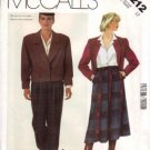 LIZ CLAIBORNE Misses Jacket Skirt Pants Suit UNCUT McCalls 2212 Sewing Pattern Size 12