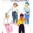 Simplicity 7012 Sewing Pattern Toddler Girls Pants & Jodphurs Size 5