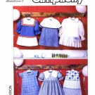 Simplicity 9808 Sewing Pattern Girls Six Styles of Dresses Sailor Size 5