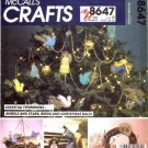 McCall's 8647 Crafts Sewing Pattern Tree Top Centerpiece Angel Ornaments Decorations