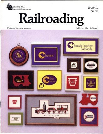 Railroading Cross Stitch Booklet