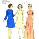 Simplicity 6098 Sewing Pattern Misses Look Slimmer Princess Dress Evening Bust 41 - 43