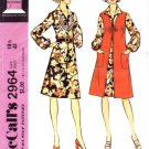 McCall's 2964 Sewing Pattern Misses Half Size Retro Dress & Jacket Size 18 1/2 - Bust 41