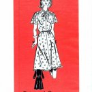 Anne Adams 4664 Sewing Pattern Misses Yoked Dress with Sleeve Variations Size 18 - Bust 40