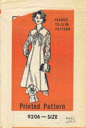 Mail Order 9206 Sewing Pattern Misses Blouse & Jumper Size - 38 - Bust 42