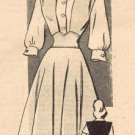 Marian Martin 9079 Mail Order Sewing Pattern Misses Blouse & Jumper Size 13 - Bust 3