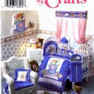 Simplicity 9680 Home Decor Sewing Pattern Daisy Kingdom Nursery Quilt Bumpers Diaper Stacker