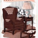 Vintage 1930's Chair Sets to Crochet Pattern Book No. 143