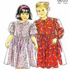New Look 6610 Sewing Pattern Toddler Girls Dress Size 3- 8