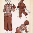 Advance 5319 Vintage Sewing Pattern Girls Boys Ski Snow Suit Jacket Trousers Helmet Size 8