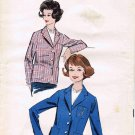Advance 9011 Vintage Sewing Pattern Womens Jacket Full Figure Size 20 Bust 40