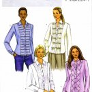 Butterick 4023 Womens Fitted Front Button Shirt Sewing Pattern Size 6 - 8 - 10