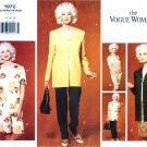 1990s Vogue 1972 Womens Jacket Dress Top Shorts Pants Wardrobe Sewing Pattern Size 14 - 16 - 18