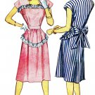 1940s Simplicity 1912 Womens Dress Vintage Sewing Pattern Size 14 Bust 32