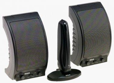 RCA WSP150 900 MHz Wireless Speakers