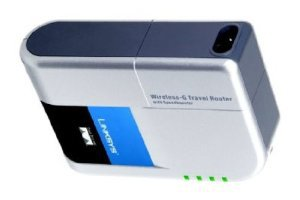 Linksys Wireless-G Travel Router with SpeedBooster WTR54GS - Wireless router - 802.11b/g - desktop