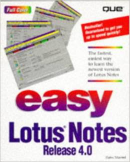 Easy Lotus Notes Release 4.0