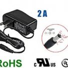 iMBAPrice® CCTV Power Adapter - DC 12V 2A, 5.5mm - 2.1mm (UL/CSA Approved) Surveillance Securit