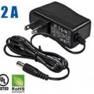 HDView® 12V DC 2A 2000mA Power Adapter Supply UL Listed Certified 2.1mm 5.5mm, CCTV *** Best Qu