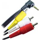 Calrad 55-867B-6 6-Feet 3.5mm Camcorder Audio/Video to RCA Cable